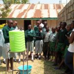 The Water Project: Madivini Primary School -  Hand Washing Training