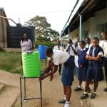 The Water Project: Eshisiru Secondary School -  Hand Washing Training