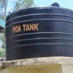 The Water Project: Lihanda Secondary School -  Plastic Tank