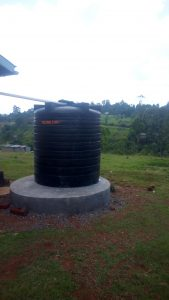The Water Project:  Plastic Water Tank