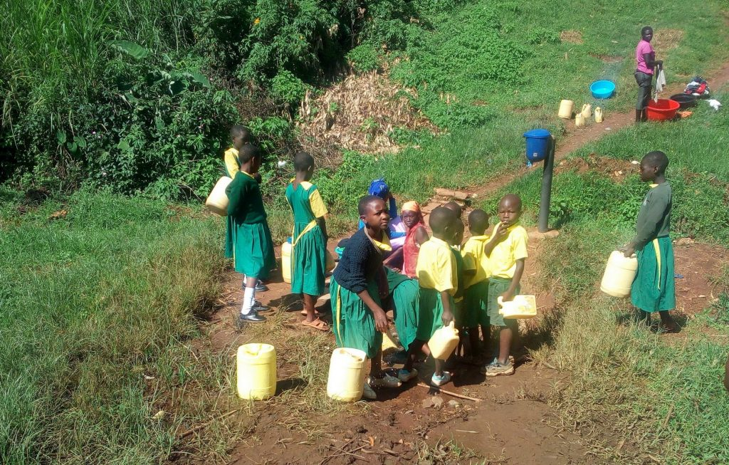 The Water Project : 8-kenya18049-fetching-water
