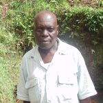 The Water Project: Jivovoli Community, Gideon Asonga Spring -  Mr Absolom Asonga