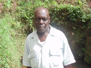 The Water Project:  Mr Absolom Asonga