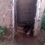 The Water Project: Koloch Community, Solomon Pendi Spring -  Latrine