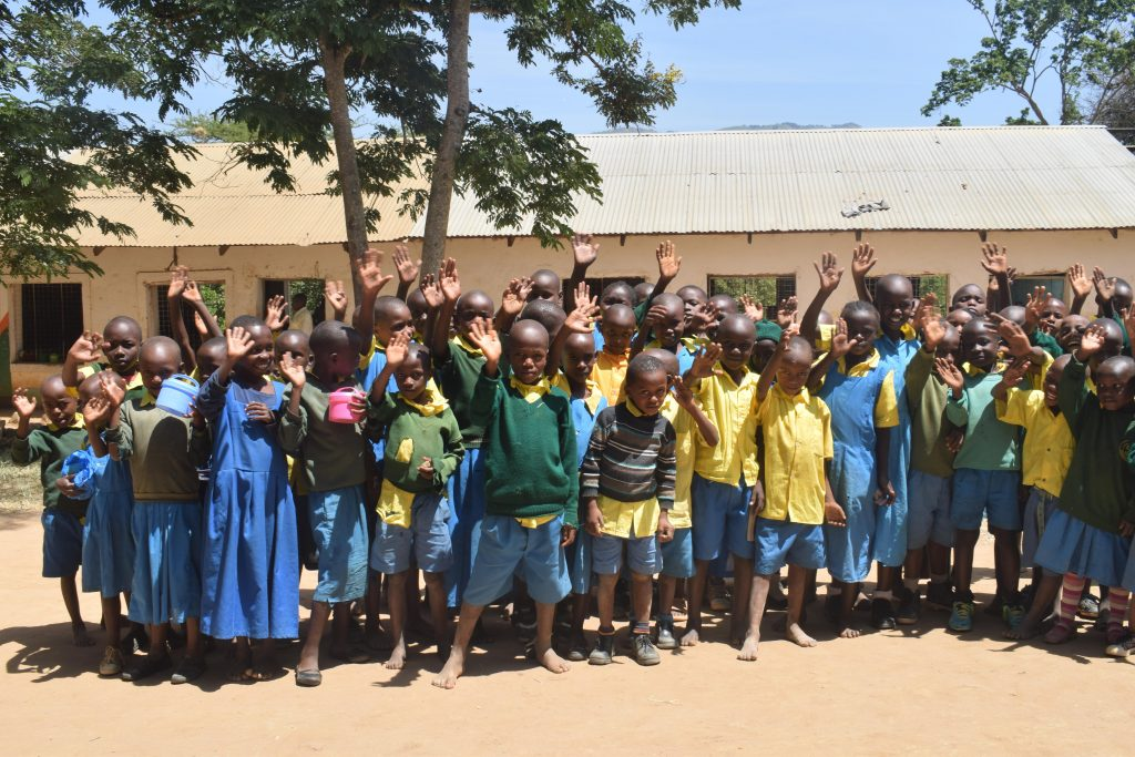 The Water Project : 8-kenya18234-students-and-their-teachers