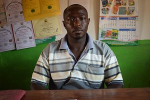 The Water Project:  Deputy Headteacher Simon Kamau