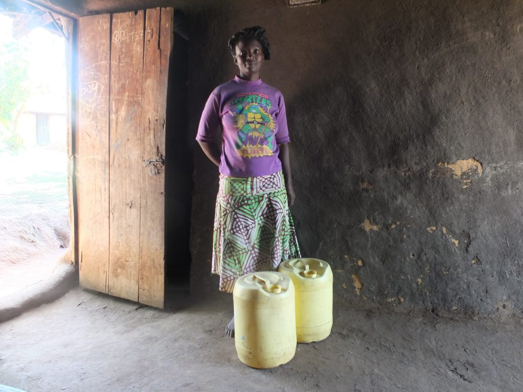 The Water Project : 8-kenya18284-water-containers