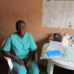 The Water Project: Kasongha Community, Maternal Child Health Post -  Nurse Kamara