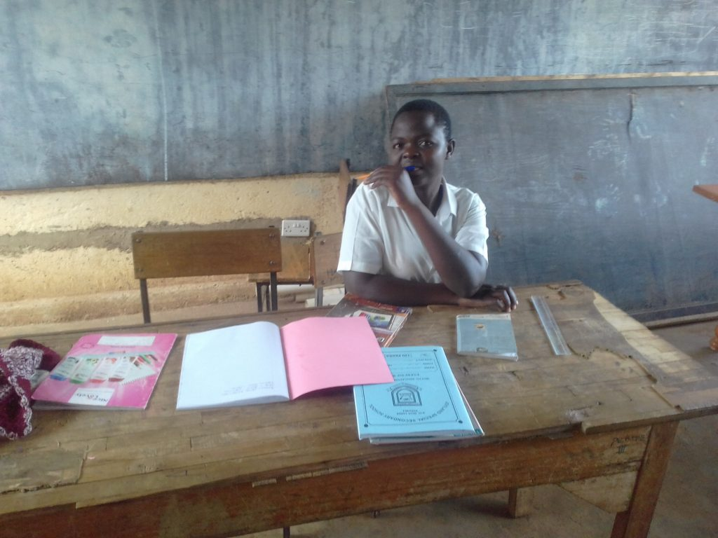 The Water Project : 9-kenya18042-students-studying