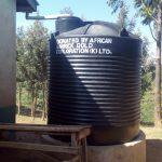The Water Project: Kenneth Marende Primary School -  The Plastic Water Tank