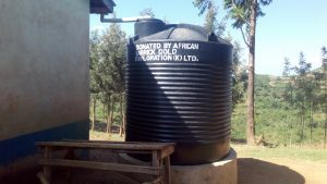 The Water Project:  The Plastic Water Tank
