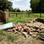 The Water Project: Bushili Primary School -  Demolished Latrines