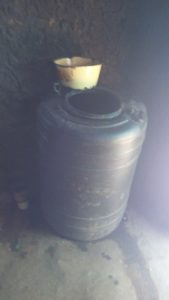 The Water Project:  Water Barrel In The Kitchen