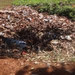 The Water Project: Isulu Primary School -  Garbage Site