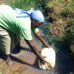 The Water Project: Luvambo Community A -  Fetching Water