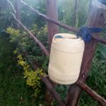 The Water Project: Koloch Community, Solomon Pendi Spring -  Hand Washing Container