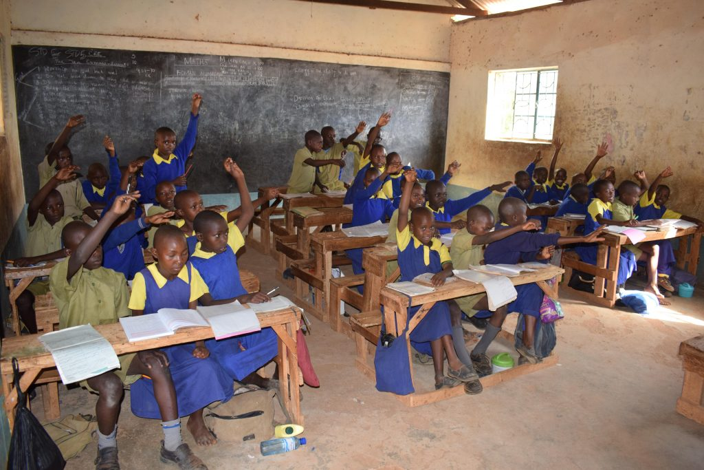 The Water Project : 9-kenya18233-students-and-teachers