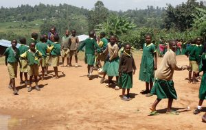 The Water Project:  Students In The School Compound