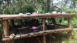 The Water Project:  A Dishrack At The School