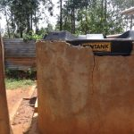 The Water Project: Shihalia Primary School -  Plastic Tank Used To Collect And Store Rain Water