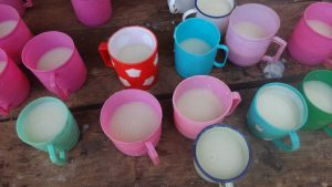 The Water Project:  Porridge And Water Drinking Mugs