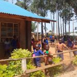 The Water Project: Shihalia Primary School -  Students Outside