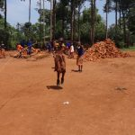 The Water Project: Shihalia Primary School -  Students Play With A Skipping Rope
