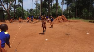 The Water Project:  Students Play With A Skipping Rope