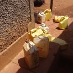 The Water Project: Shihalia Primary School -  Water Containers Used By Students To Bring Water From Home