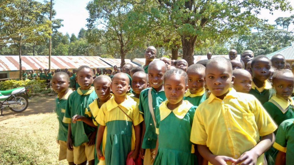 The Water Project : kenya18070-students