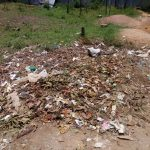 The Water Project: Naliava Primary School -  An Open Dumping Place At The School