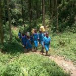 The Water Project: Naliava Primary School -  Carrying Water Up The Hill
