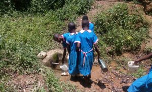 The Water Project:  Girls Fetch Water
