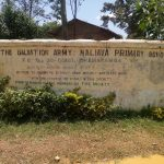 The Water Project: Naliava Primary School -  School Sign