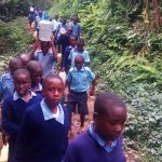 The Water Project: Shihimba Primary School -  Carrying Water