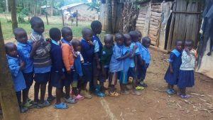 The Water Project:  Pupils Line Up
