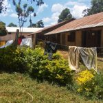 The Water Project: Precious School Kapsambo Secondary -  Clothes Hang On Schools Fence