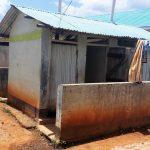 The Water Project: Precious School Kapsambo Secondary -  Latrine And Clothesline