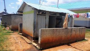 The Water Project:  Latrine And Clothesline