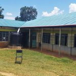 The Water Project: Precious School Kapsambo Secondary -  Plastic Water Tank At The School