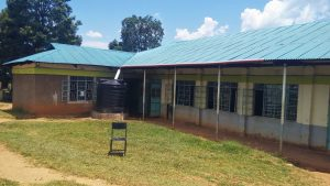 The Water Project:  Plastic Water Tank At The School