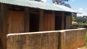 The Water Project:  Sample Latrines
