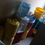 The Water Project: Precious School Kapsambo Secondary -  Storage Containers In The Teachers And Matrons Houses