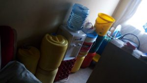 The Water Project:  Storage Containers In The Teachers And Matrons Houses