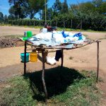 The Water Project: Emukangu Primary School, Shibuli -  A Dishrack At The Schools Kitchen