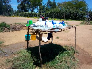 The Water Project:  A Dishrack At The Schools Kitchen