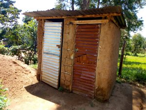 The Water Project:  Latrines At This School