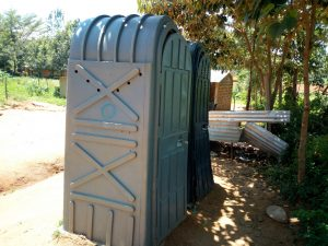 The Water Project:  Mobile Pit Latrines In The School