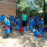 The Water Project: Emukangu Primary School, Shibuli -  Students At The School Grounds