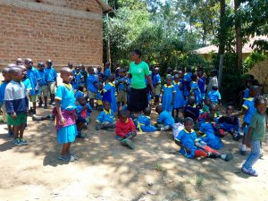 The Water Project:  Students At The School Grounds